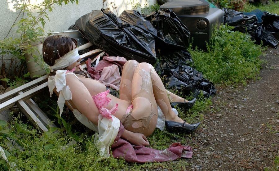 【レイプ事後画像】これが本物のヤリ捨て女wwwレイプ被害に遭った女の事後がアウト過ぎるwwww その3
